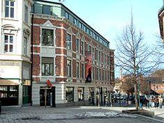 Thistedgården in Hønefoss (Norway), original design by Heinrich Karsten completed 1898-1900.