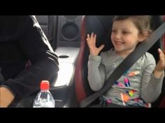 """Little girls reaction to Dad speeding in Nissan GT-R is priceless 