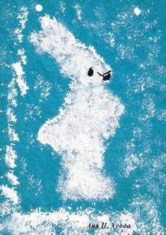 «Снежная картина»— нетрадиционная техника рисования. / нетрадиционные техники рисования / детские поделки Waves, Outdoor, Outdoors, Ocean Waves, Outdoor Games, The Great Outdoors, Beach Waves, Wave