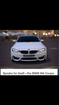BMW M4 Coupe...