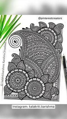 Mandala Drawing, Mandala Art Lesson, Doodle Art Drawing, Mandala Artwork, Mandala Painting, Doodle Art Designs, Zen Doodle Patterns, Fineliner Set, Mandala Art Therapy