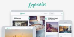 Expressivo - Lifestyle Masonry WP Blog Theme V1.1 - http://nulledtemplates.net/templates/wordpress-theme/expressivo-lifestyle-masonry-wp-blog-theme-v1-1.html   Expressivo – Lifestyle Masonry WP Blog Theme EXPRESSIVO THEME FEATURES  Masonry blog layout or list style layout 3 Header layout options Widgetized header Sidebar left or right layout option Seperate widget areas for blog and pages Fully responsive Retina ready Theme options (see docs for all options) Dedic