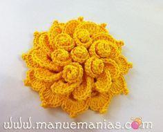 Flor de Maio en http://www.manuemanias.com