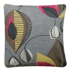 "Cushion Cover Handmade With Starlight Sorbet Clarke & Clarke Fabric 14"" Retro"