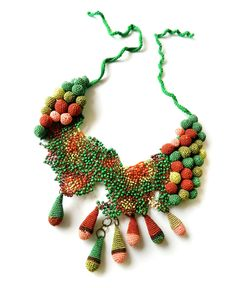 Lidia Puica – crochet necklace