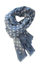 Schal polka dots