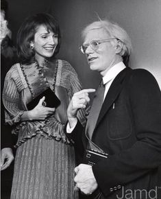 LEE RADZIWILL and ANDY WARHOL