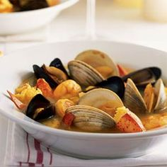 Bouillabaisse | MyRecipes.com I Complex, but I still want to make this some time