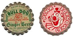 vintage bottle caps.