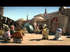 Lego Star Wars The padawan Menace full movie HD - YouTube