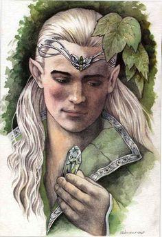 Legolas by Colleen Doran
