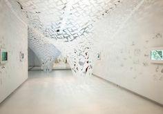 Henning Larsen Architects. #arabcontemporary #architecture #louisianamuseum #art #arab #exhibition #henninglarsenarchitects