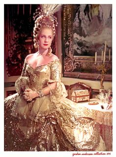 Norma Shearer as Marie Antoinette; photo courtesy of the Gordon Anderson collection, posted with permission.