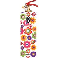 Fire Extinguisher - Flowers - Free Shipping