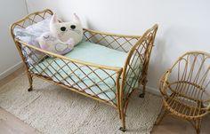lit en rotin pour enfant
