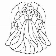 Free Wood Burning Patterns For Stained Glass Angel, Stained Glass Christmas, Faux Stained Glass, Stained Glass Projects, Stained Glass Windows, Stained Glass Patterns Free, Stained Glass Designs, Mosaic Patterns, Pattern Art