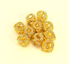 30 OFF Basketball Wives Earrings 12mm Gold by trendzjewelrysupply, $8.40