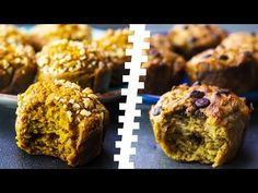 6 Healthy Oatmeal Muffins For Weight Loss - YouTube