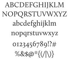 Free Font Calluna by Exljbris | Font Squirrel