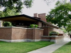 Robie House (Frank Lloyd Wright), Chicago.