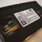 Boîte à crayons avec