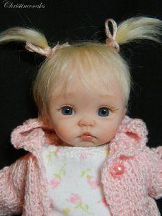 Christine Shapiro uploaded this image to 'OOAK Babies'. See the album on Photobucket. Cute Little Baby, Little Doll, Little Babies, Cute Babies, Reborn Toddler Dolls, Reborn Dolls, Reborn Babies, Pretty Dolls, Cute Dolls