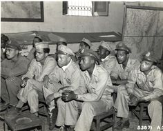 Tuskegee Airmen (Red Tails) was a squadron of black airmen who served in World War II (Breifing) Kaufman Debra