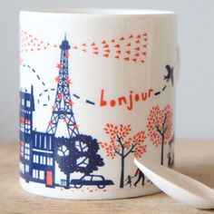 """Un dimanche a paris"", by famille summerbelle, a label created by anglo/french duo simon summerscales and julie marabelle."