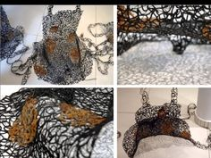 Hot Glue Art 1997-2015 / Hot Glue Technique by Almyra Weigel