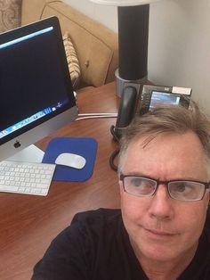 Shaun at the computer 2015