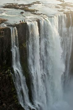 Victoria Falls, Zimbabwe - I've been here several times when it was full and lush, and when it was depleted during the drought so much so that you could see the river bed.