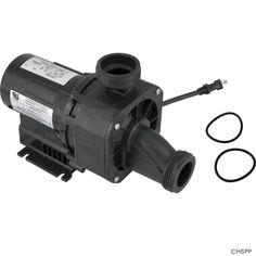 "Pump,Bath,BWG Gemini Plus II VS,0.75hp,115v,1-1/2"",w/o Union"