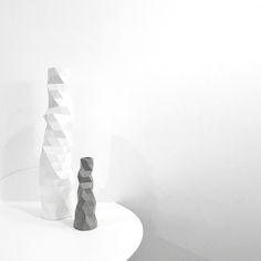 The Minimalist home x Faceture vases