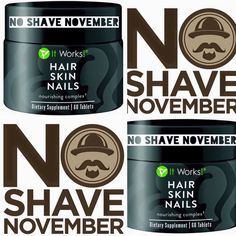 hey everyone its no shave november now is your chance to get this amazing product for men and woman weather its beards or nails it can do it all :)