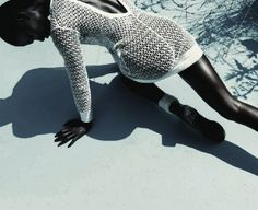 "opaqueglitter:  ""Cocoon"" Vogue Germany September 2013, Model:? Photographed by Julia Noni  Styled by Kathrin Schiffner."