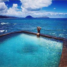 Blackpoint Pool Hawaii USA #USA #Hawaii #Infinitypool