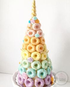Unicorn Donut Tower