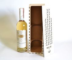 For sale is wine box (Laser cut vector model only). Set of 2 patterns: patterns create of plywood mm patterns create of plywood 4 mm Digital product includes AI, EPS, CDR, DXF files. Wooden Wine Boxes, Laser Cut Files, Wine Refrigerator, Wine Gifts, Plywood, Laser Cutting, Whiskey Bottle, Chai, Geek Stuff