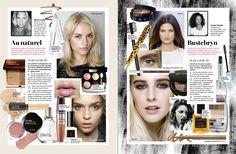 Stella. #magazine #layout #makeup