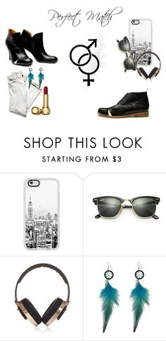 perfect match by shoebedo on Polyvore featuring Pryma, Ray-Ban and Casetify