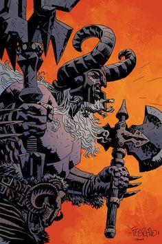 Diablo III Concept Art By Hellboy Artist Duncan Fegredo