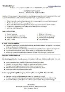 InformationTechnologyManagementResume  College