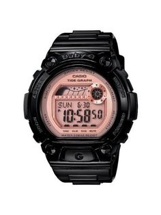 Casio Women's BLX100-1E Baby-G Shock Resistant Baby-G Shock Glide Black and Pink Multi-Function Watch Casio. $89.00