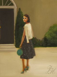 Eldest Daughter by Janet Hill.