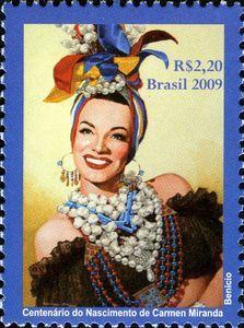 Centenary of the birth of Carmen Miranda
