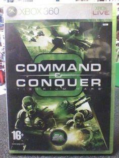 Command &  Conquer 3: Tiberium Wars  XBOX 360  Usato