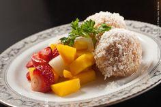 Hideki Sushi (jantar)    Rabanada à moda do Chef recheada de Cream Cheese Philadelphia  Acompanhada de Salada de frutas