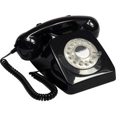 GPO 746 Rotary telephone (215 BRL) ❤ liked on Polyvore featuring home, home decor, fillers, decor and british home decor