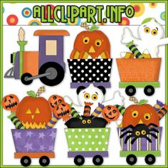 Halloween Train Clip Art - $1.00 : Welcome to AllClipART.info!, We offer High Quality COMMERCIAL USE Graphics for Teachers, Crafters & Scrapbookers. Clip Art Graphics, Printable Paper Crafts, CU/PU Kits, Digital Stamps, Digital Papers & Free Downloads! Available in downloadable jpg & png formats.