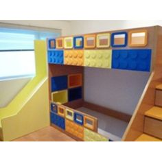 Funky Lego Bunk Beds Manufactured To Order By Our Friendly